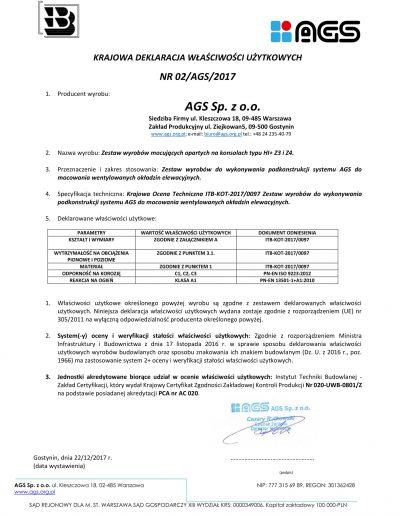 Deklaracja AGS 02_AGS_2017-1